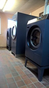 Miele commercial washer and dryers installed byForbes Professional