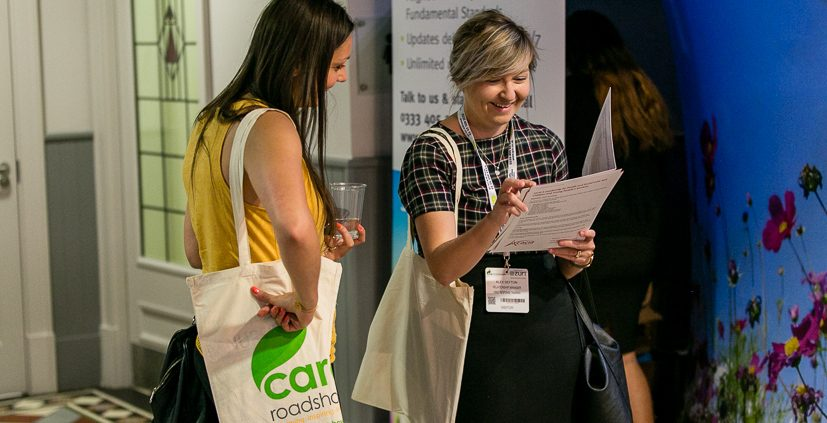 Care Roadshow Birmingham visitors